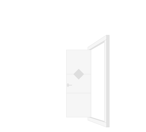 Kozijn met voordeur