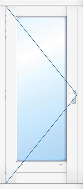 Kozijn met deur